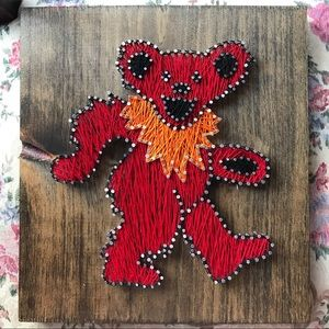 Other - The Grateful Dead dancing bear string art